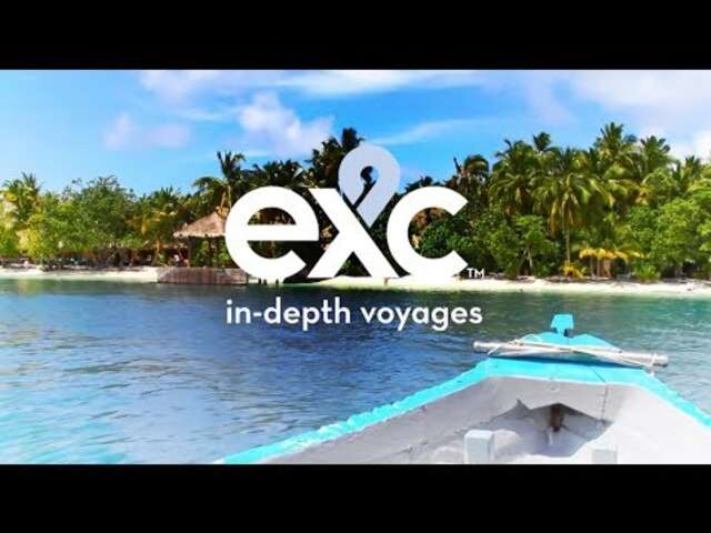 EXC In-Depth™ Voyages Cruise Farther, Delve Deeper