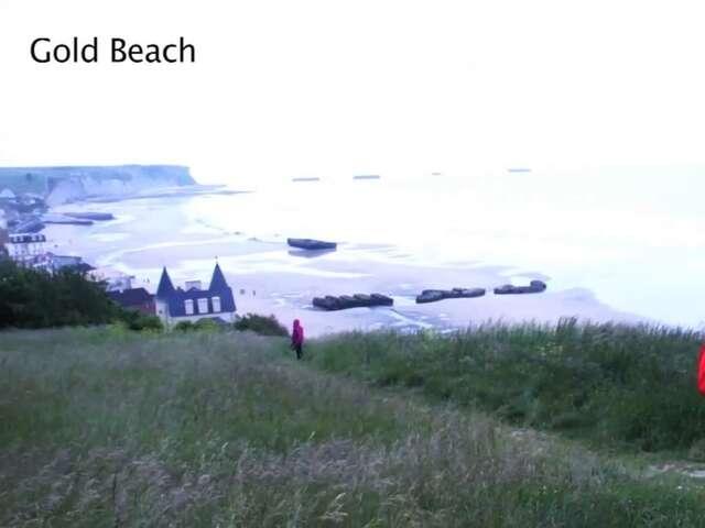 Video: Normandy WW2 Landing Beaches
