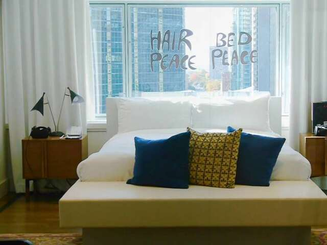 50 Years Since John Lennon's Bed-in for Peace: Video Inside that Hotel Suite Today