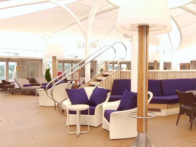 Where's the Best Place to Spend a Day at Sea on the Seabourn Ovation?