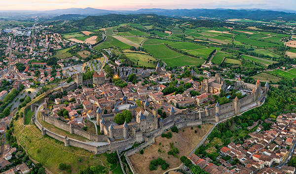 Wine tour to Carcassonne