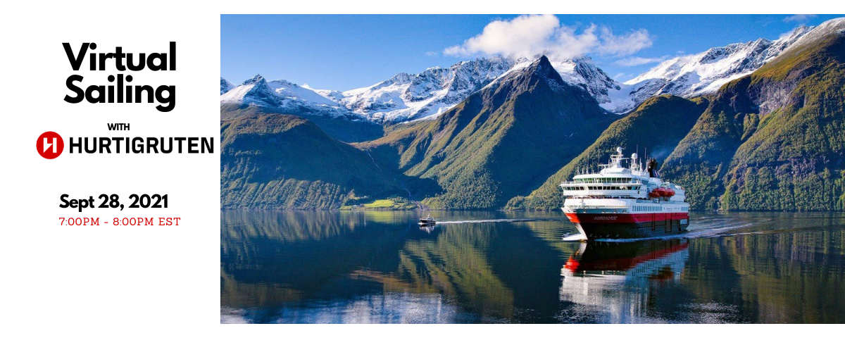Virtual Consumer Night with Hurtigruten Expeditions