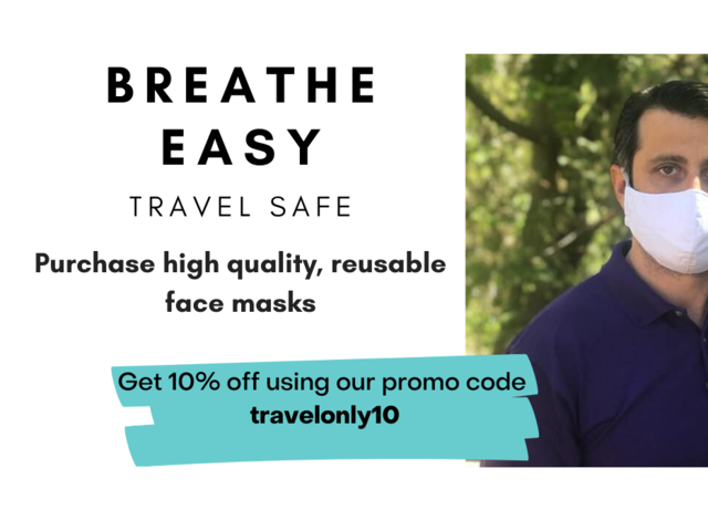 Protecting Canadian Travellers with Innovative Face Masks