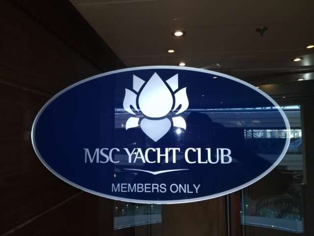 MSC Divina Yacht Club Experience