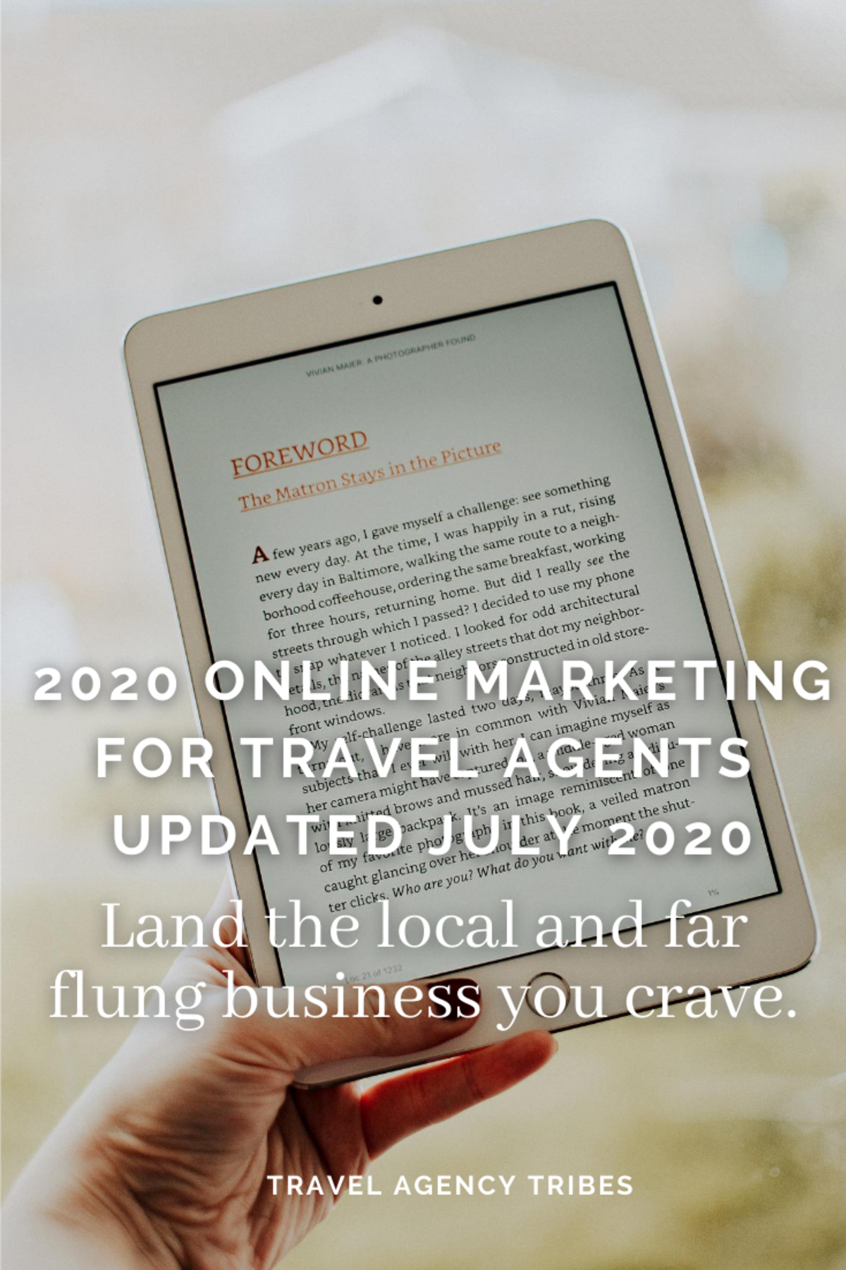 Online Marketing for Travel Agents