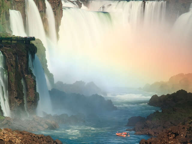 WHEN IN IGUASSU FALLS BY PRIVATE CAR