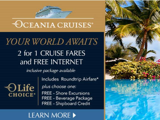 Ocean Cruises OLife Choice