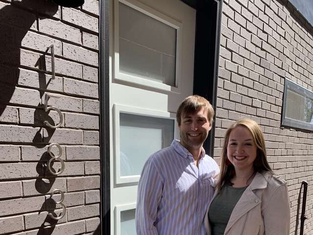 We're Homeowners!