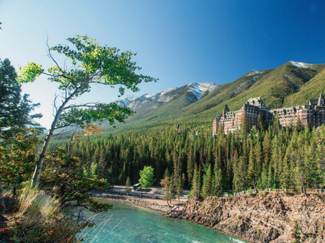 Canada's Iconic 'Castle and Cabin' Western Mountain Hotels Re-Open