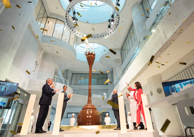 Sweet Spot: New Chocolate Museum Houses the World's Largest Chocolate Fountain