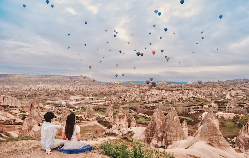 Top 4 Places In The World To Go Hot Air Ballooning