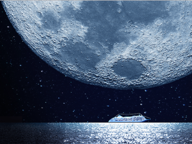 There's a New Moon on the Horizon - a Silver Moon