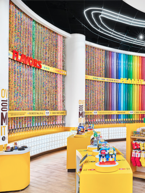 The 'Happiest Place on Earth' Becomes the 'Sweetest' with New M&M's Experiential Store