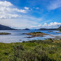 Tierra del Fuego National Park - Glaciers, Waterfalls and Majestic Mountains
