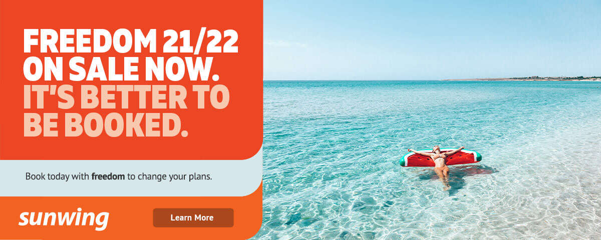 Sunwing Freedom 21/22 Sale On Now