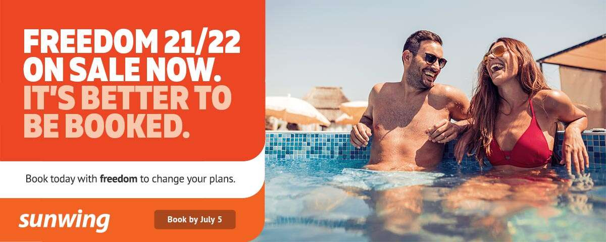Sunwing Freedom 21/22 Sale - Extended