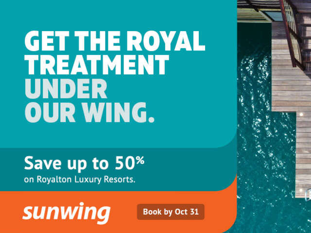 Get The Royal Treatment with Sunwing
