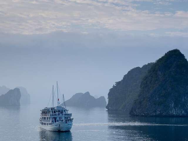 Monday - November 4, 2019 Hanoi – Pelican Cruise in Halong Bay