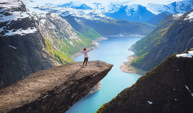 Eidfjord is home to Norway's largest national park
