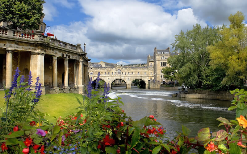 Cityscape in the medieval town Bath | Bath, Somerset, England