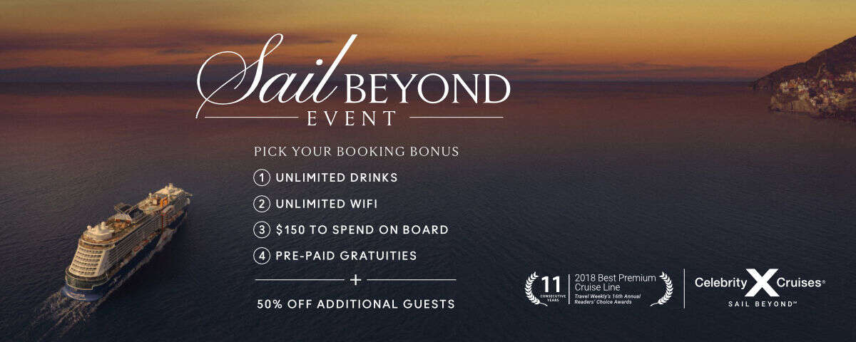 Sail Beyond Event - Celebrity Cruises