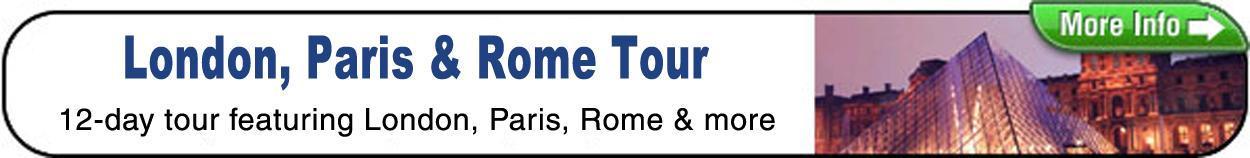 London PAris Rome