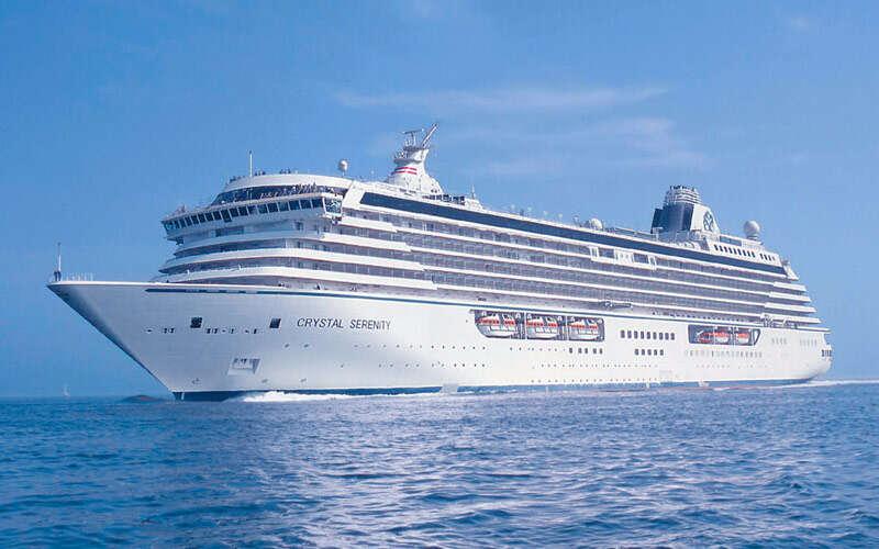 Crystal Cruises sale until August 31st