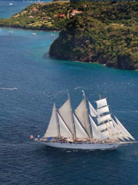 De-Stress and Renew on Yoga and Wellness Tall Ship Cruises This Fall