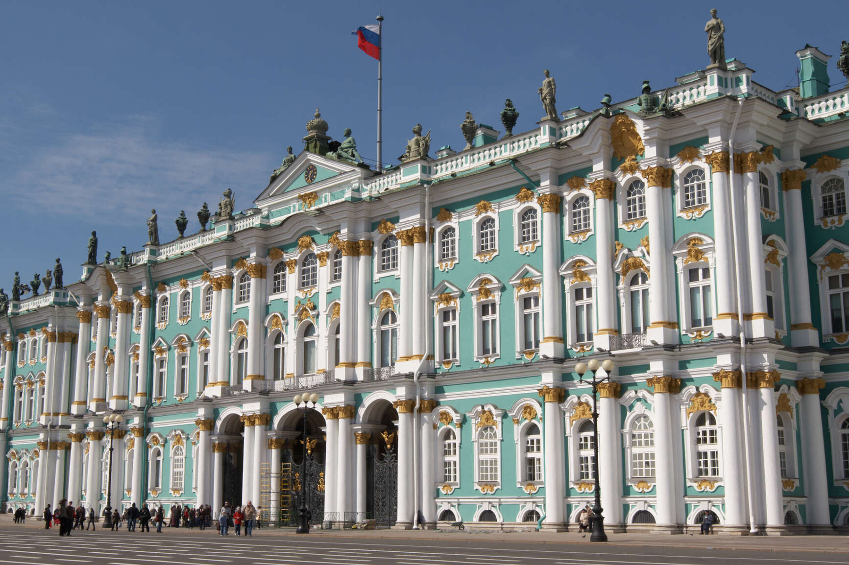 Housed in the winter palace, State Hermitage Museum