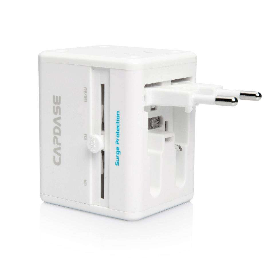 Bring it anywhere, The Only One Travel Adapter with USB Port