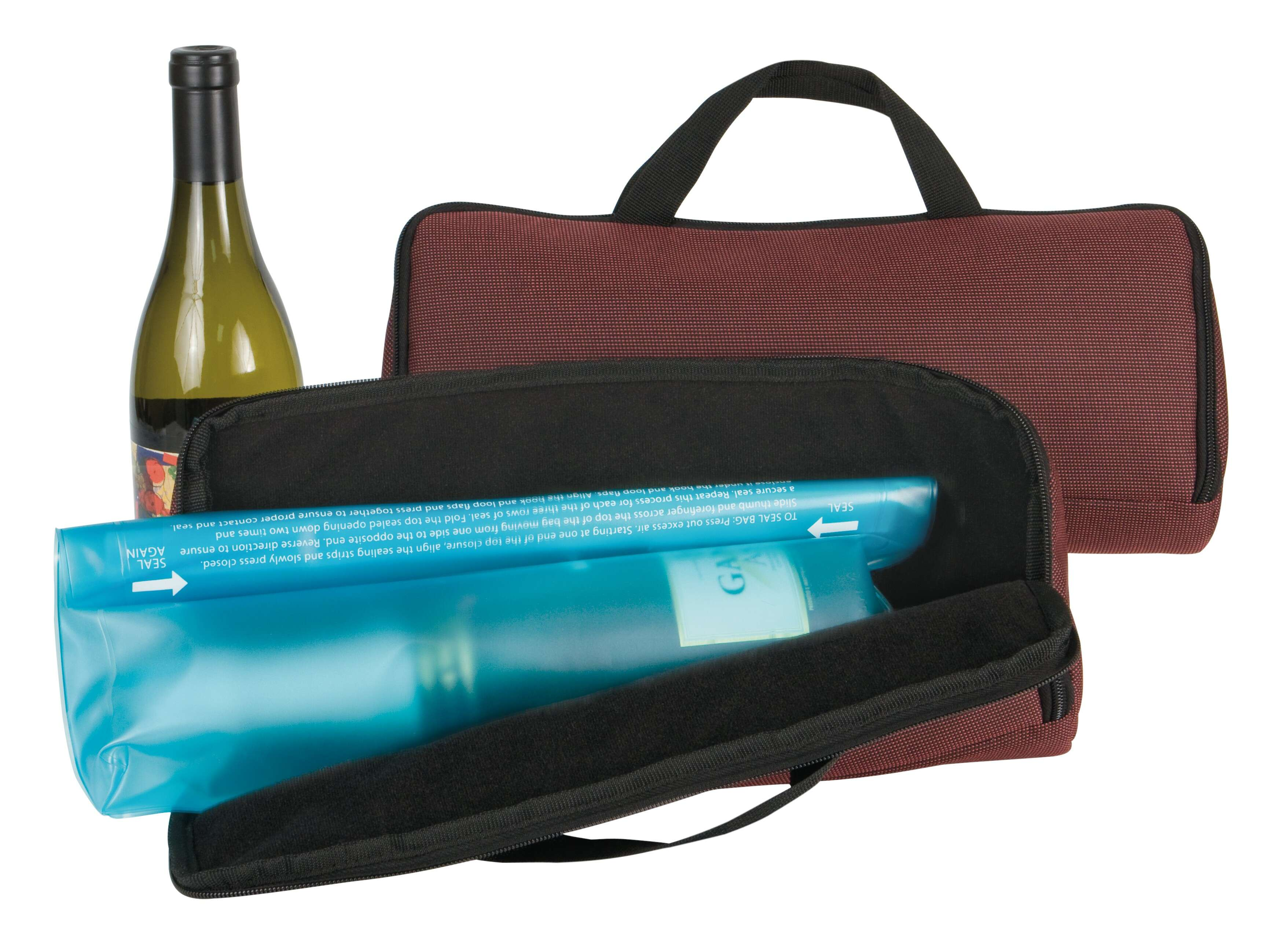 Keep your wine with Travelon Wine Travel Case