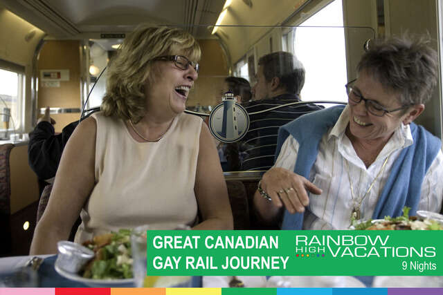 GREAT GAY RAIL JOURNEY ONTARIO & QUEBEC