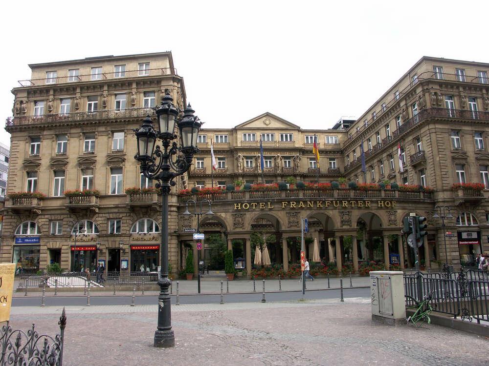 5 great hotels in Frankfurt
