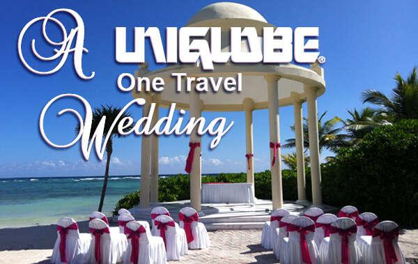 A UNIGLOBE One Travel Dream Wedding