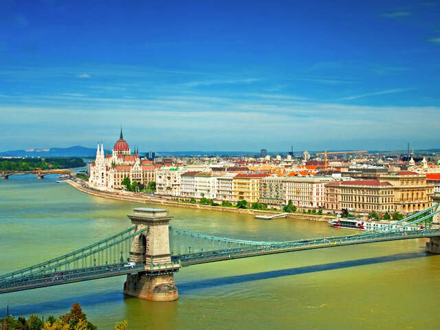 Start your Hungarian adventure off right with a stay at the Corinthia Hotel