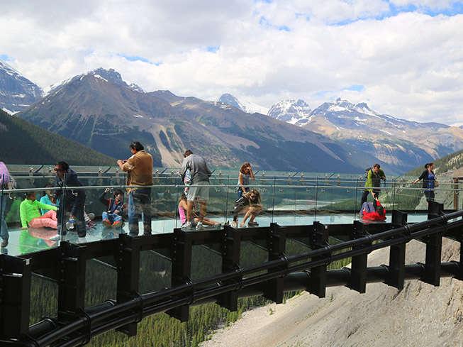 Glacier Skywalk, Jasper National Park, Canadian Rockies
