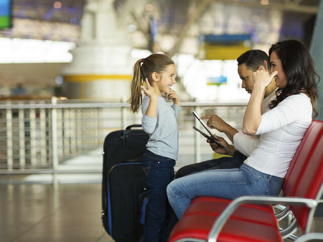 How to Survive a Long Haul Flight with Young Children