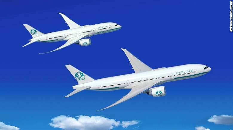 Crystal Cruises Will Take To The Air