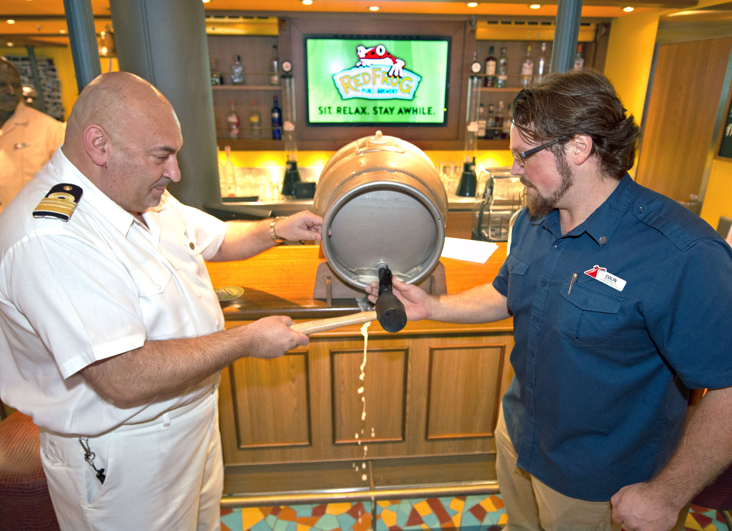 Carnival Vista 'Taps' into Home Port Flavors for American Craft Beer Week