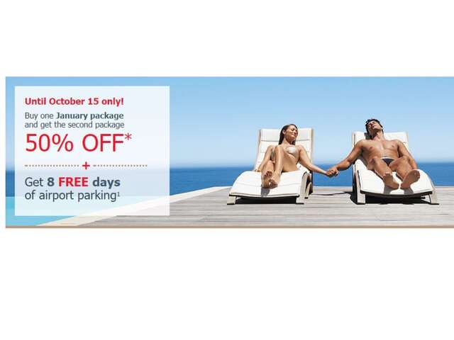 Air Canada Vacations   Early Booking  Promotion