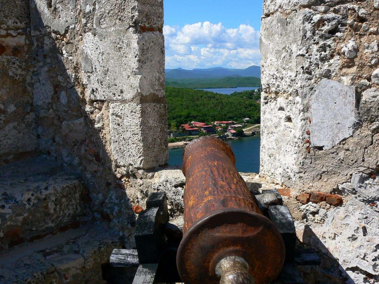 Castle of  San Pedro de la Roca Santiago