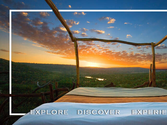 Discover the Serenity of Sleeping Under the Kenyan Skies