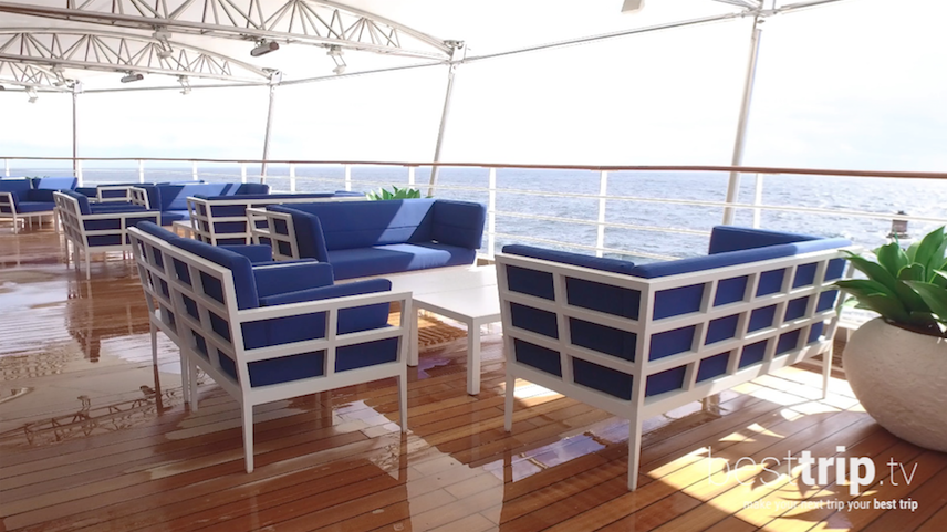 Picture Yourself: On the Outdoor Decks of the Silver Muse
