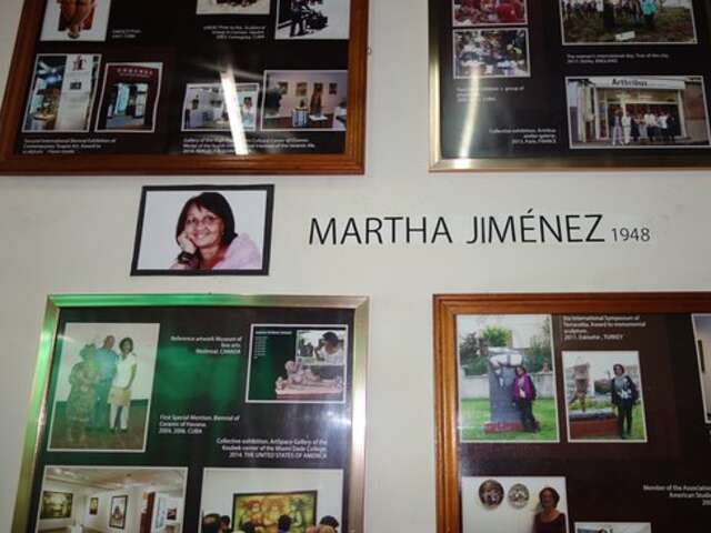 Martha Jimenez's Studio Workshop