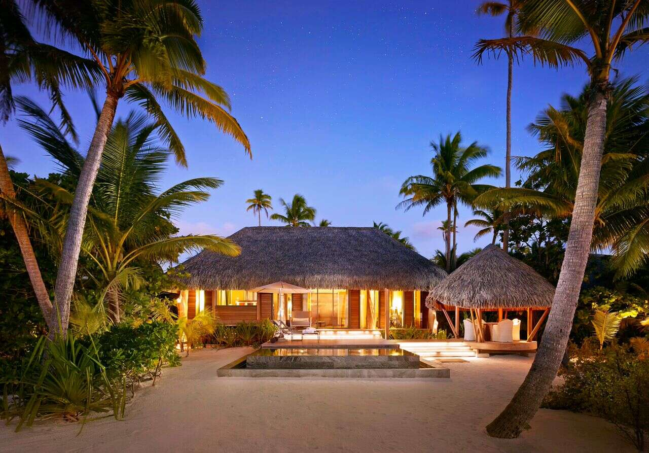 Luxe Beach Resort in Tahiti at its Finest: The Brando