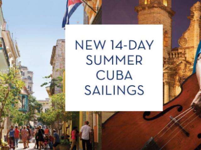 14-Day Summer Cuba Sailings
