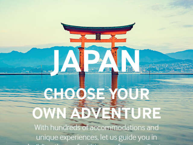 TravelBound: Build the Perfect Japan Itinerary