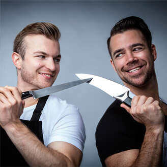 2 Guys With Knives image