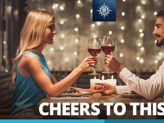 Cheers to Unlimited Drinks* with MSC Cruises!