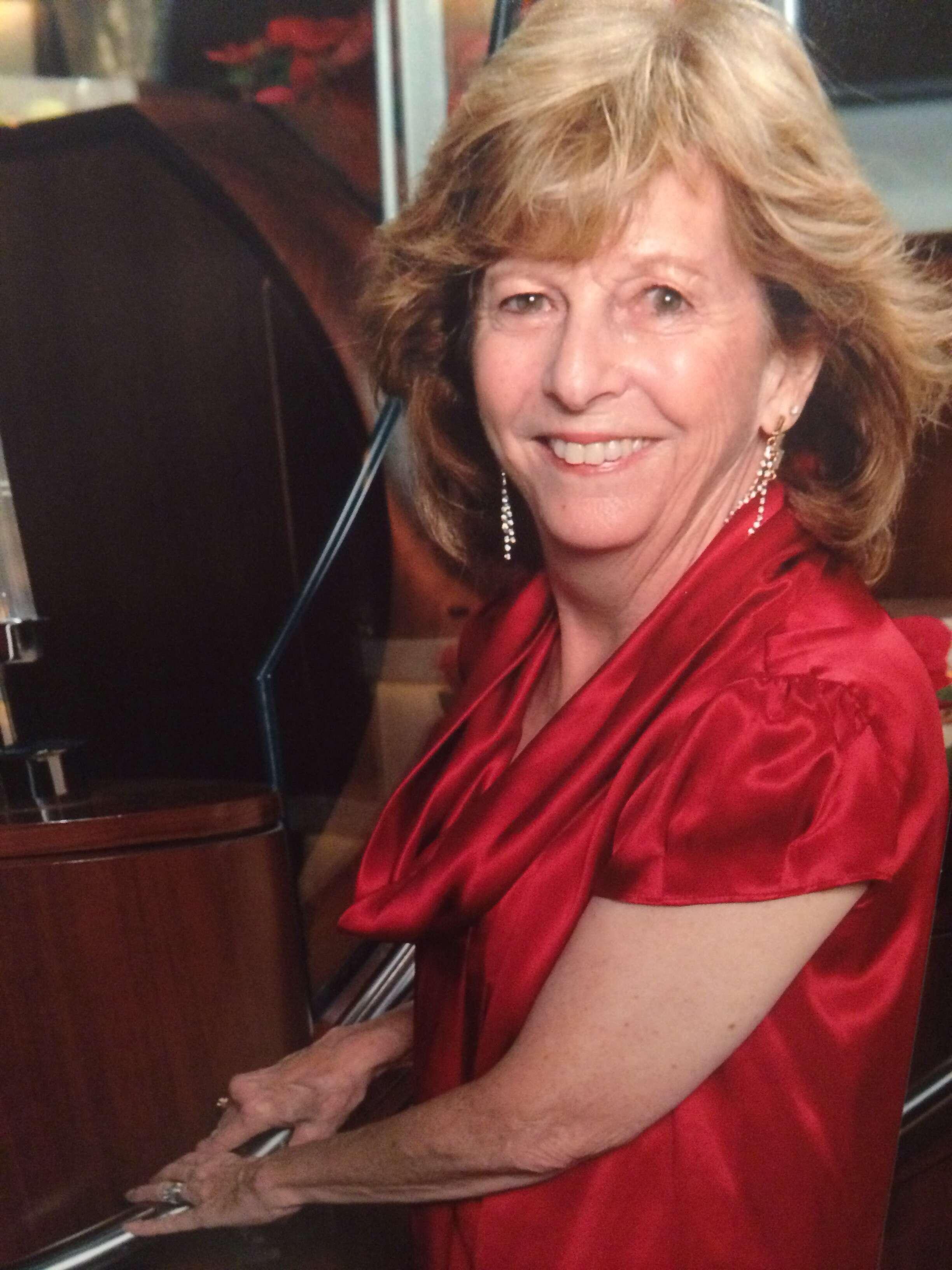 Travel agent Carolyn Makin